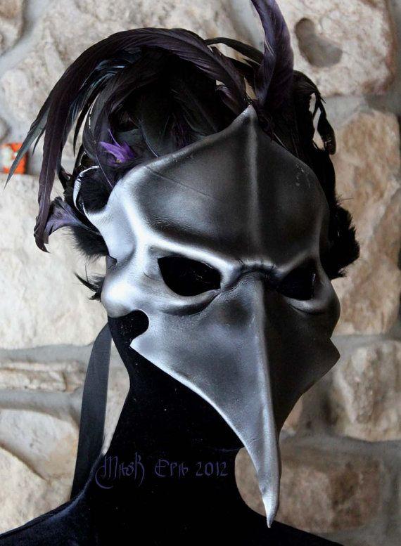 Corvus BautaHandmade leather mask by MaskEra on Etsy