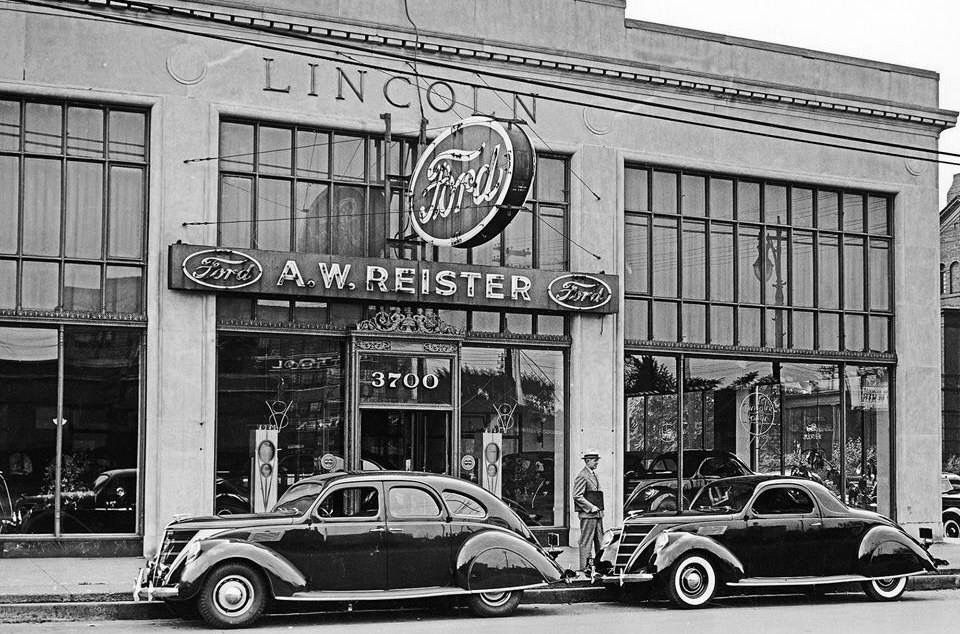 Pin by Byron T on Old Auto Dealers | Pinterest