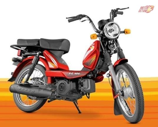 Tvs Xl 100 Price Specifications Review Dimensions Used Bikes Bike Prices Bike News