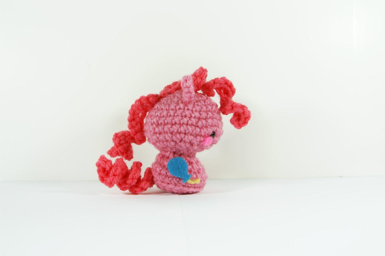 Crochet Pinkie Pie, My Little Pony, Amigurumi Pony, Crochet Plushie ...