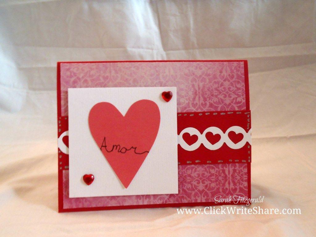 Valentines day card idea paper crafts pinterest card ideas craft jeuxipadfo Images