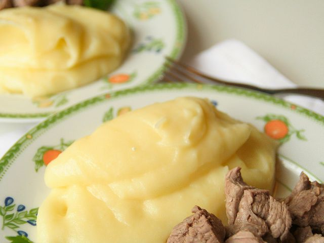 Vuoi cucinare il pur di patate bimby 2 persone la for Cucinare per 300 persone