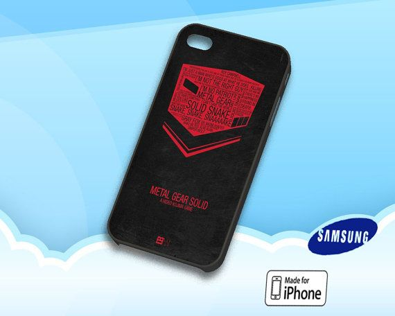 Metal Gear Solid Collage Art Case fit for iPhone 4/4S by RakCetho, $13.99