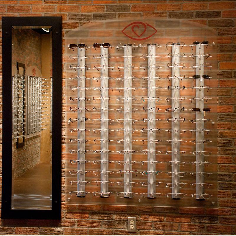 Eyeglass Frame Displays Aero Rod Optometry Office