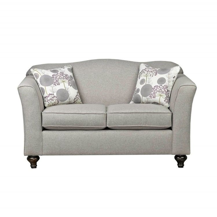 Sofa Express By Fancy Violet Collection Beige Loveseat 2400   BadBoy    $458.88