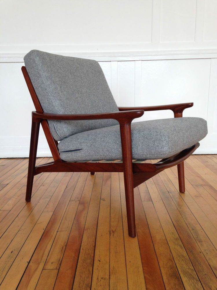 Danish Style 1960 S Guy Rogers New Yorker Low Back Armchair Retro Mid Century In Home Furniture Diy Chairs Ebay