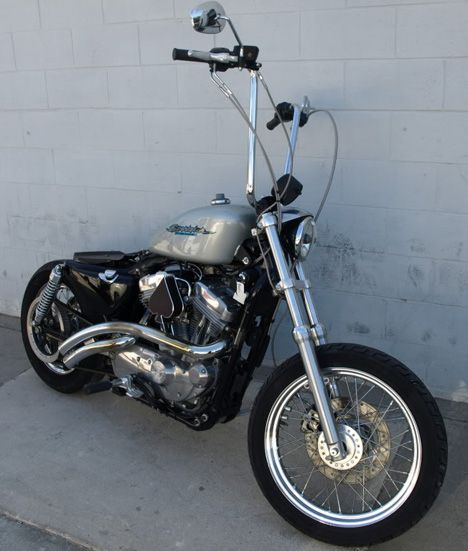 Photo of 2006 Harley Sportster Bobber 883C Motorcycle with