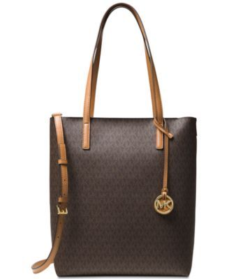 152f24a362e2 Michael Michael Kors Hayley Large North South Top Zip Tote - Orange ...