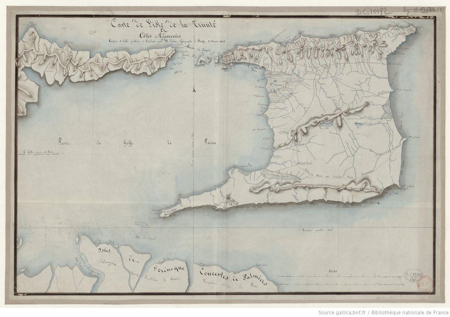 Pin On Cartes Anciennes Trinite Et Tobago