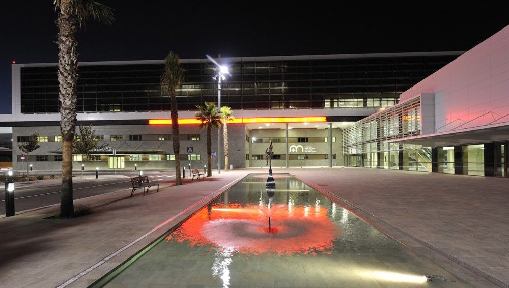 Hospital General los Arcos del Mar Menor. CASA Sólo Arquitectos. Francesc Pernas, Bernat Gato & Roger Pernas.