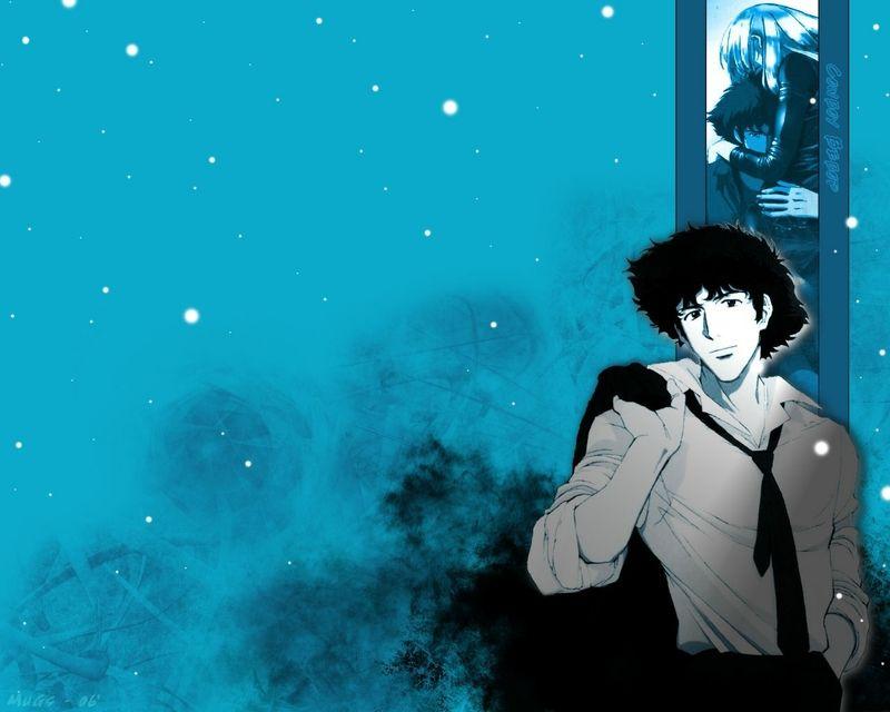 Blue Cowboy Bebop Spike Spiegel Wallpaper Cowboy Bebop Cowboy Bebop Anime Anime