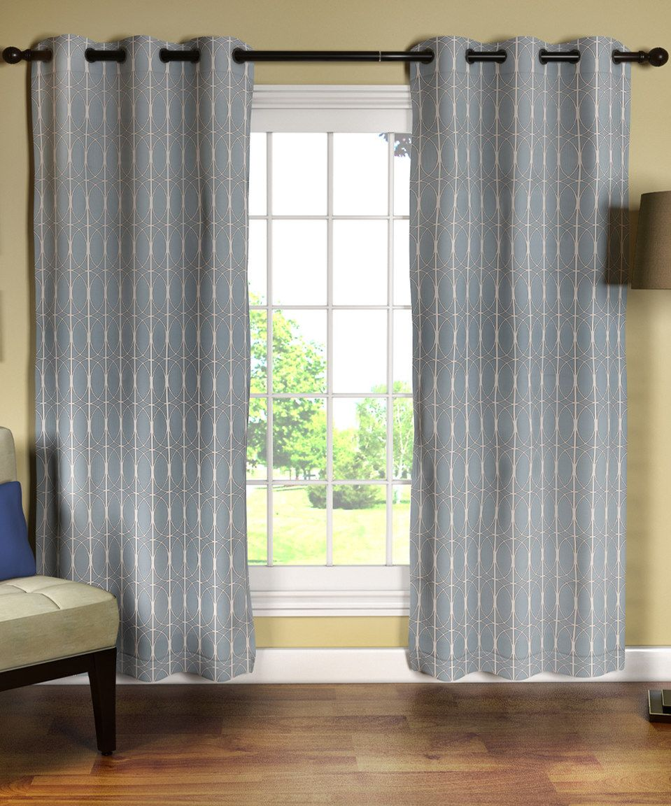 Zebra window coverings  love this sea glass optics curtain panel  set of two by myle on