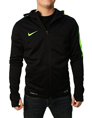 NIKE Nike Men'S Graphic Knit Full-Zip Soccer Jacket (Black). #nike #cloth #