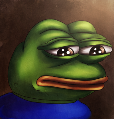 Pin On Sad Frog Memecollection
