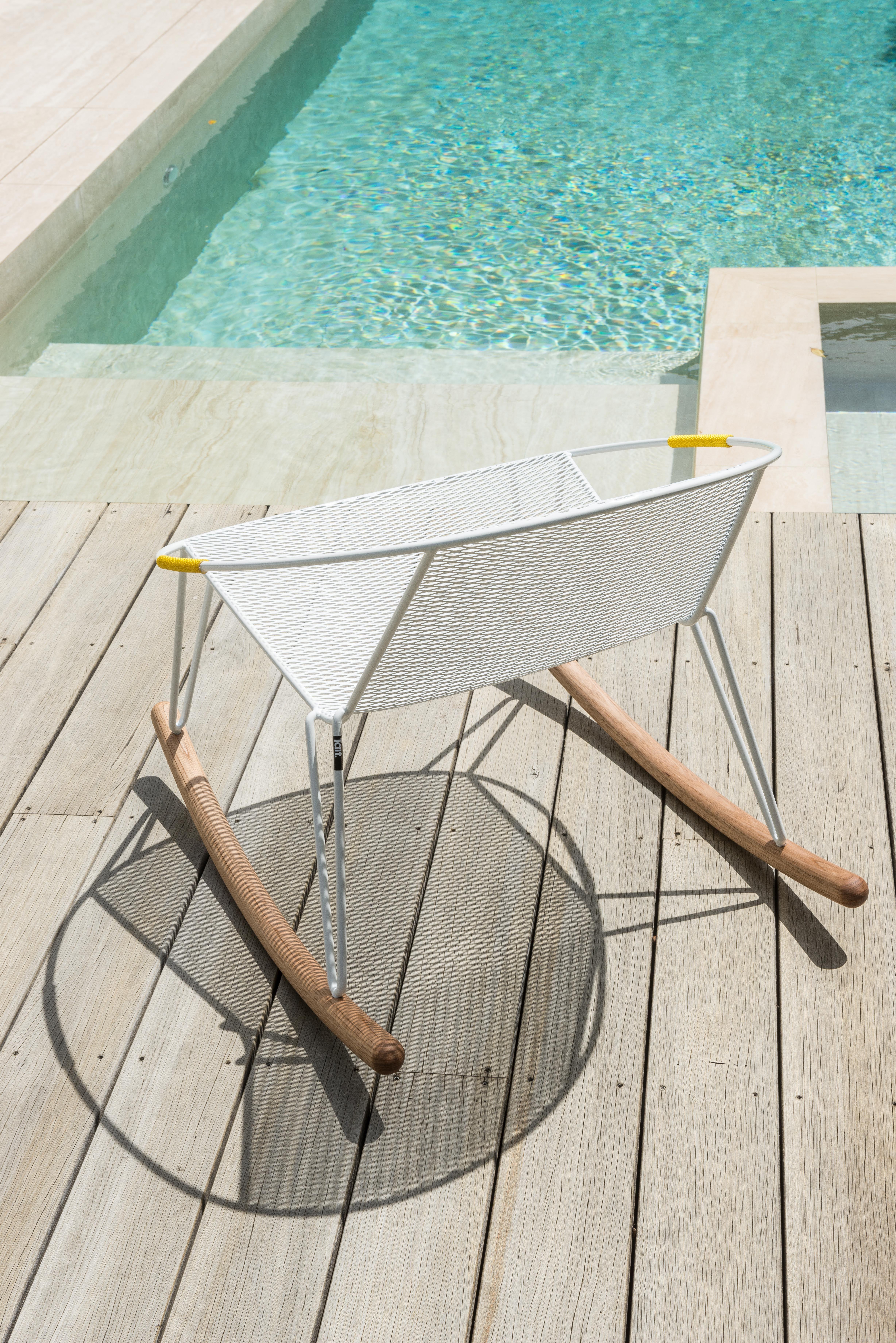 Outdoor Volley Rocker designed by Adam Goodrum for Tait ...