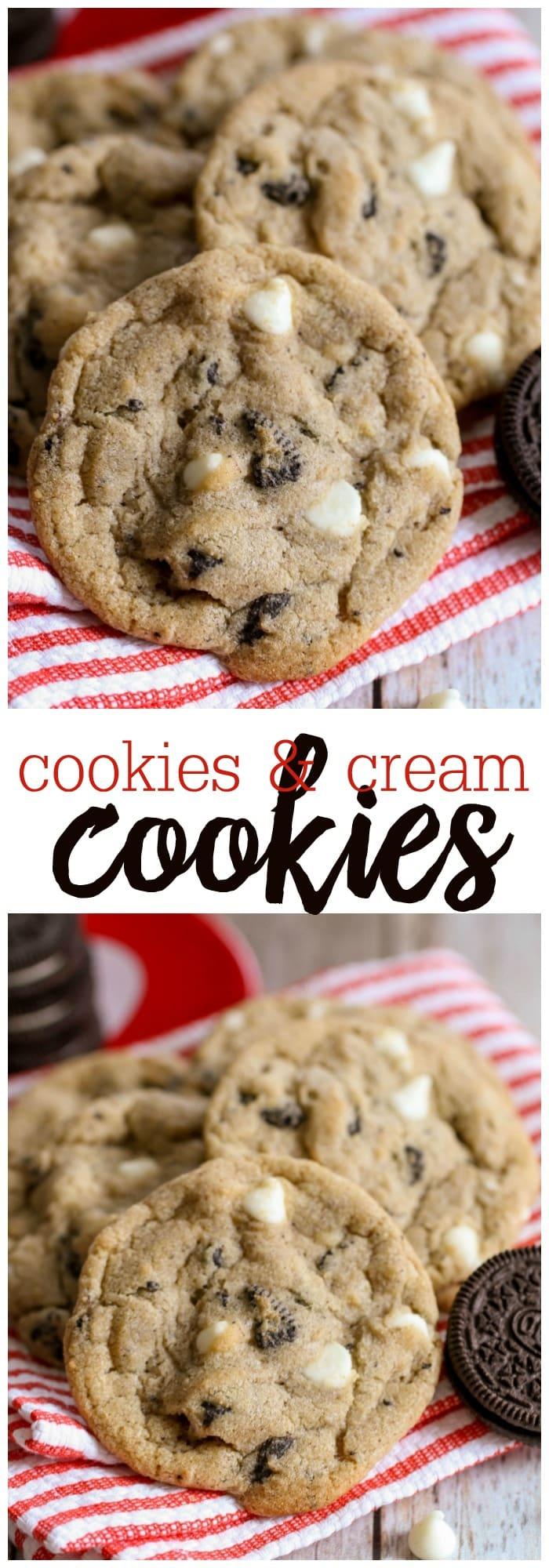 #cookiesncreamcookies #oreocookies #whitechocolatechipcookies #cookierecipes #cookies