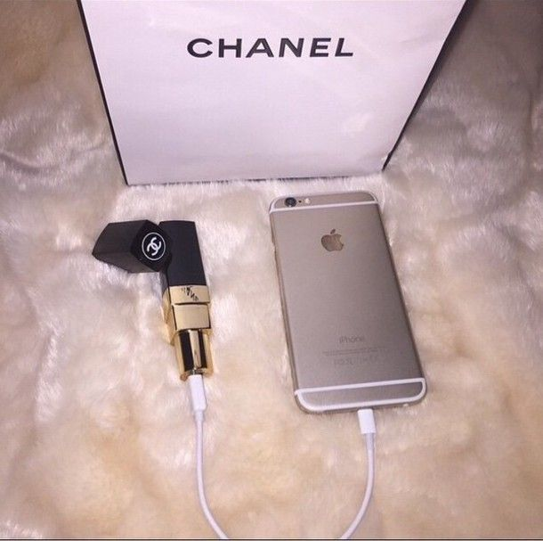 Chanel lipstick portable charger  520791fb6e