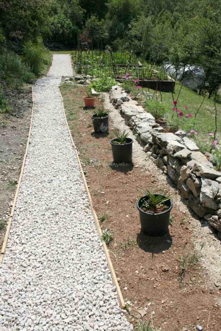Gravier Blanc Pour Le Jardin Astuces Et Idees Deco Gravier