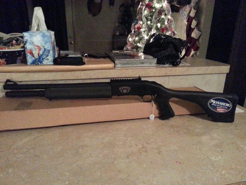 My Newest Toy Blackwater Edition Mossberg 930 Spx Semi Auto