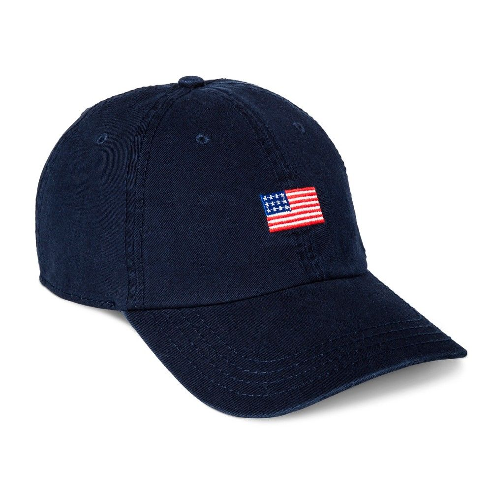 Men s Americana Flag Dad Hat - Navy (Blue) One Size  9fb0af9fadac