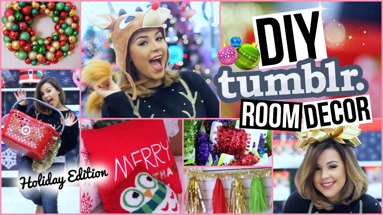Diy Tumblr Room Decor Affordable Christmas Decorations