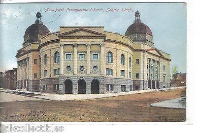 New First Presbyterian Church-Seattle,Washington 1909