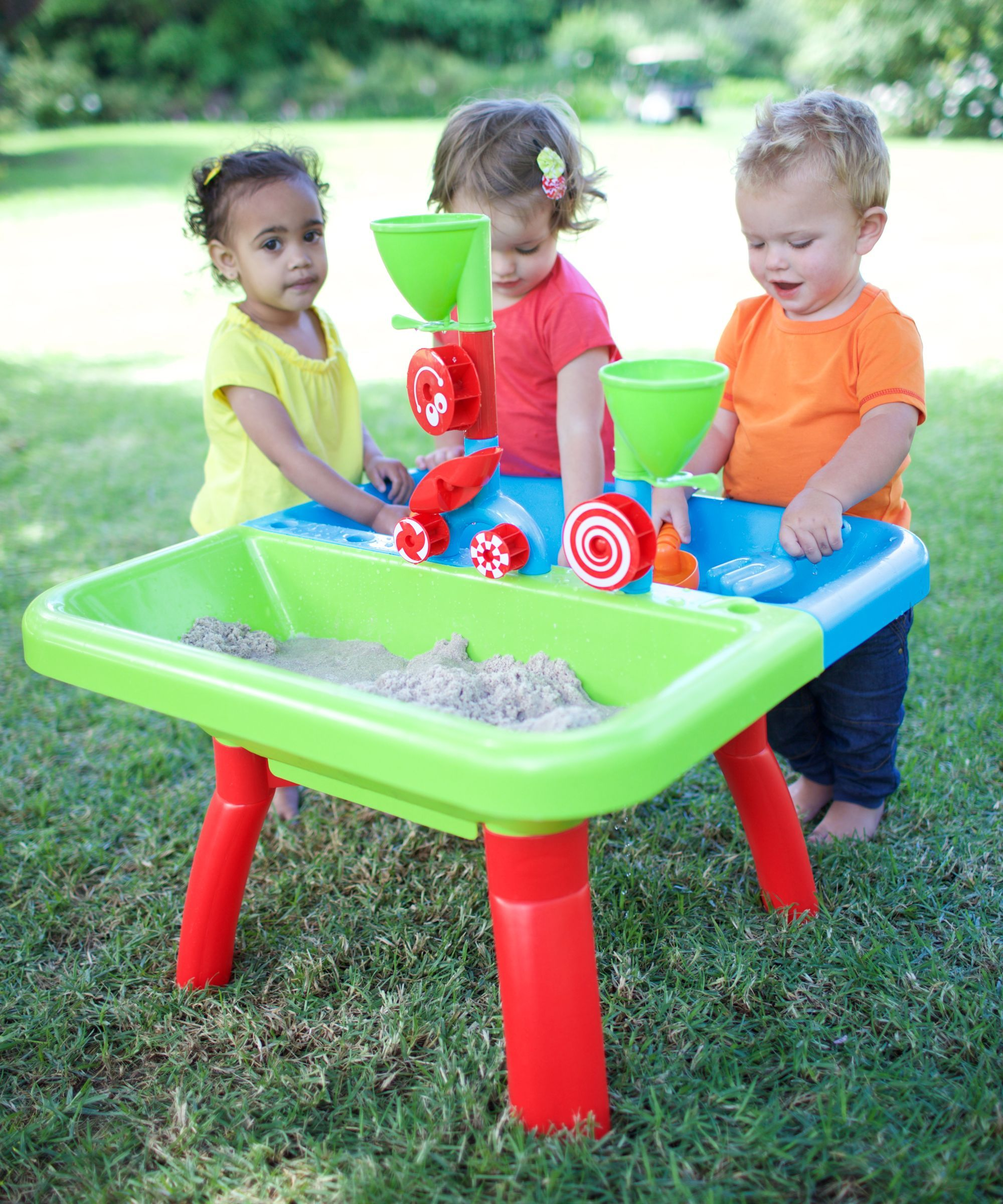 Sand and Water Table blakes 1st birthday Pinterest