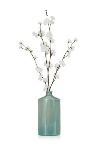 Buy Cream Blossom In Ceramic Vase from the Next UK online shop