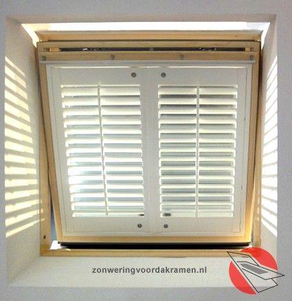 VELUX shutters (Merk: Dimago) - interieur | Pinterest - Zolder ...