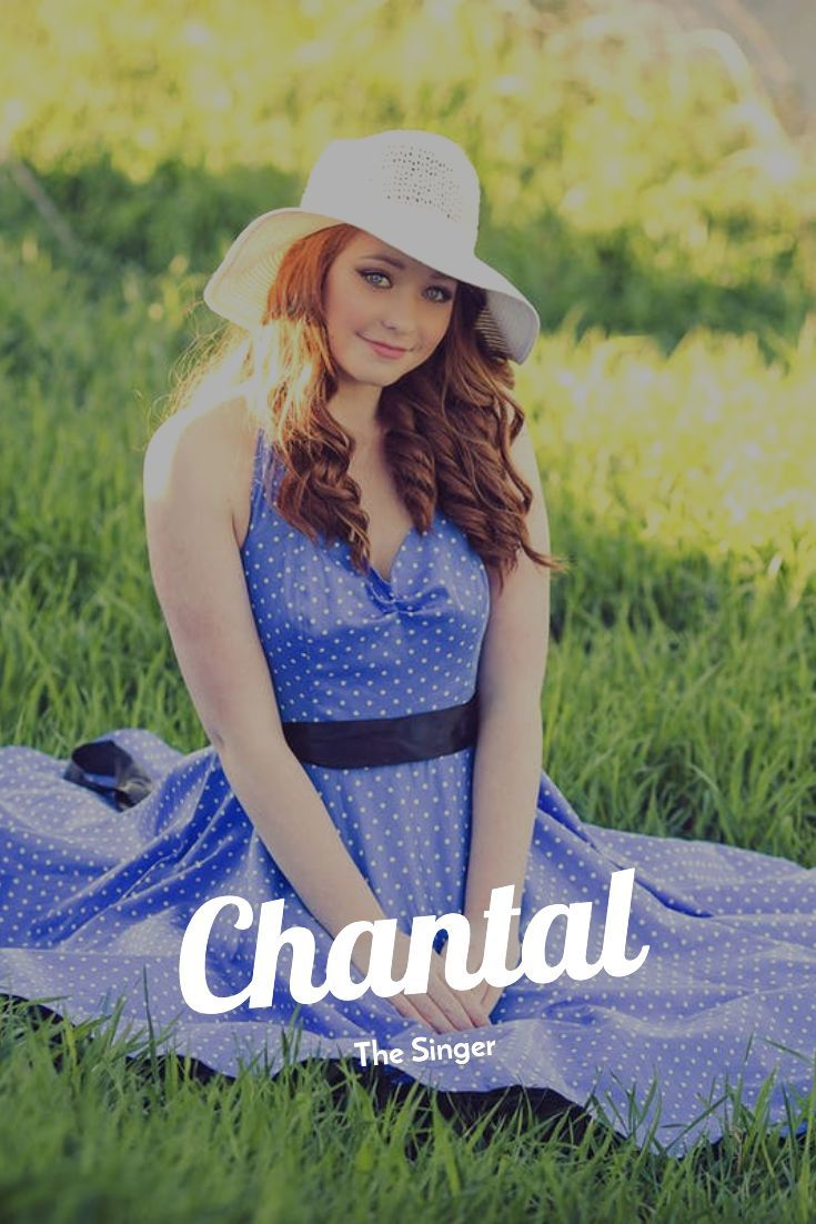 Girl Names  Stuff for Girls Chantal  The Singer