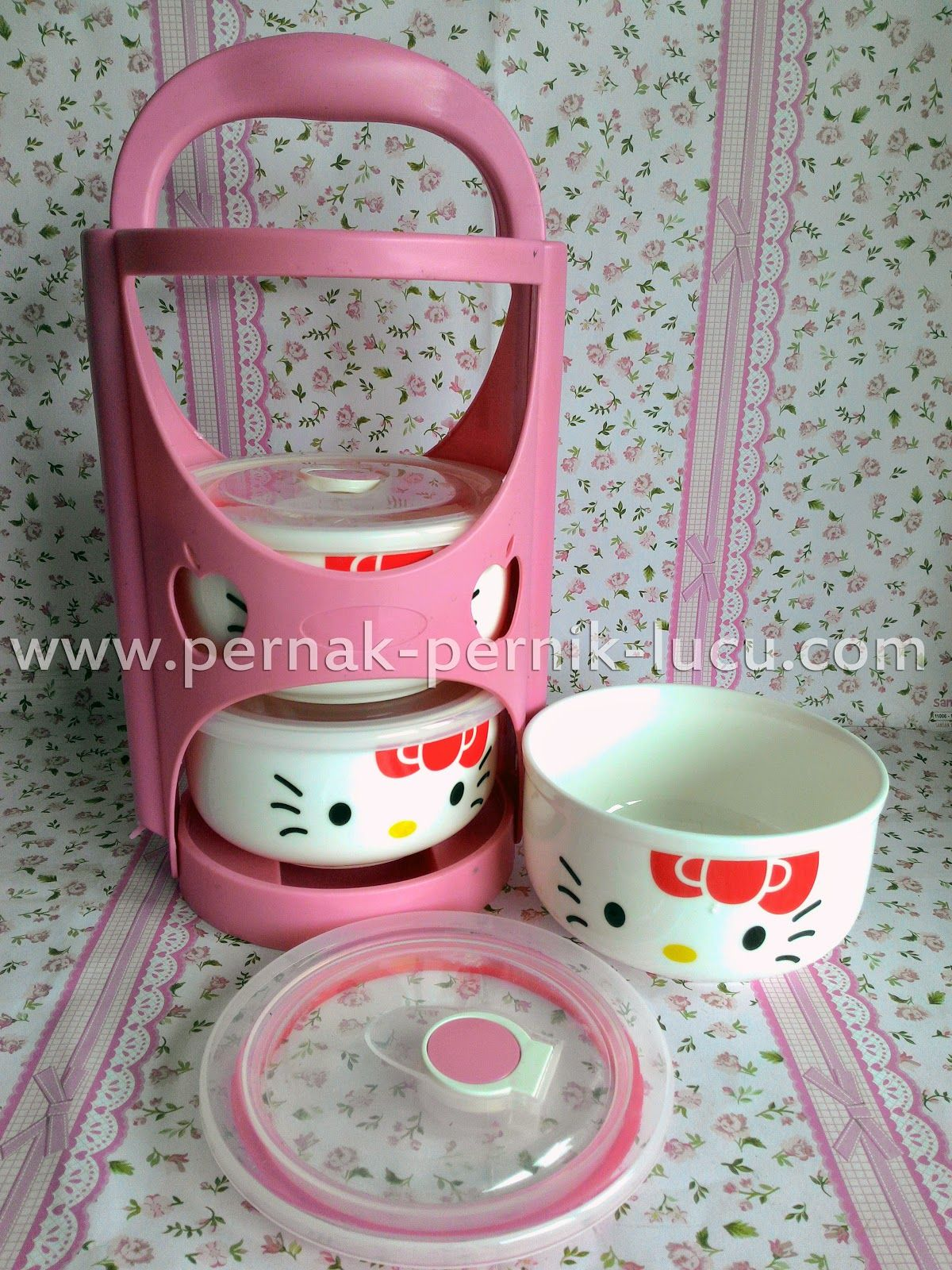 Tableware Hello Kitty Pernak Pernik Lucu Pinterest Tableware