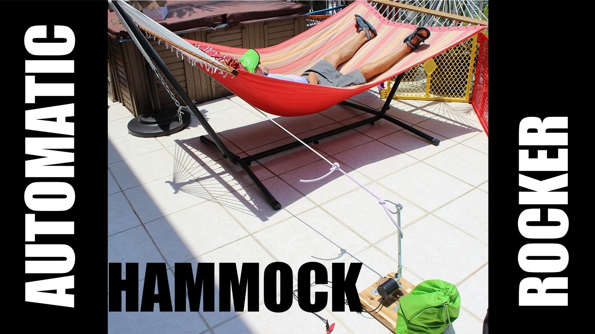 Automatic swinger for hammocks