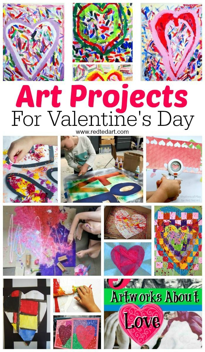 Valentines Day Art Projects Middle School