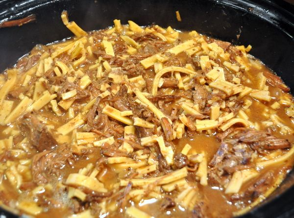 The Best Beef And Noodles Recipe In The Crock Pot Crock