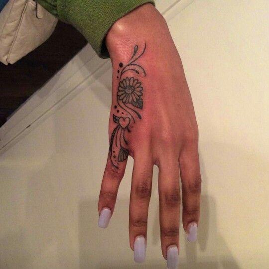 Pinky Hand Tattoo Cute Hand Tattoos Hand Tattoos Hand Tattoos For Women