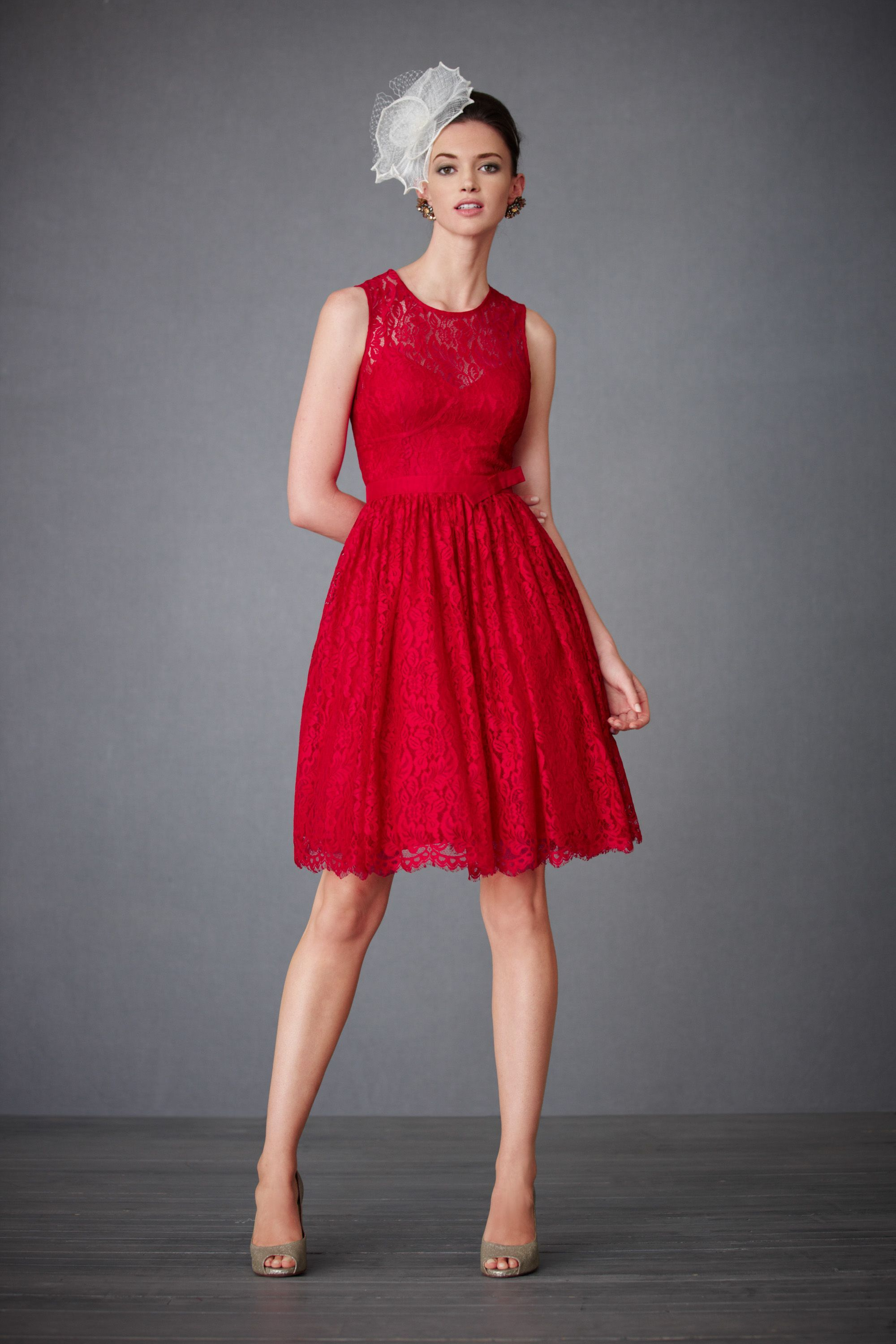 Oooh crimson bridesmaids dresses love the lace wedding ideas oooh crimson bridesmaids dresses love the lace ombrellifo Image collections