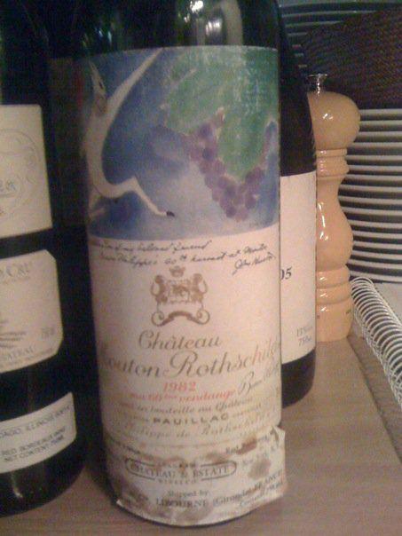 82 Mouton Rothschild