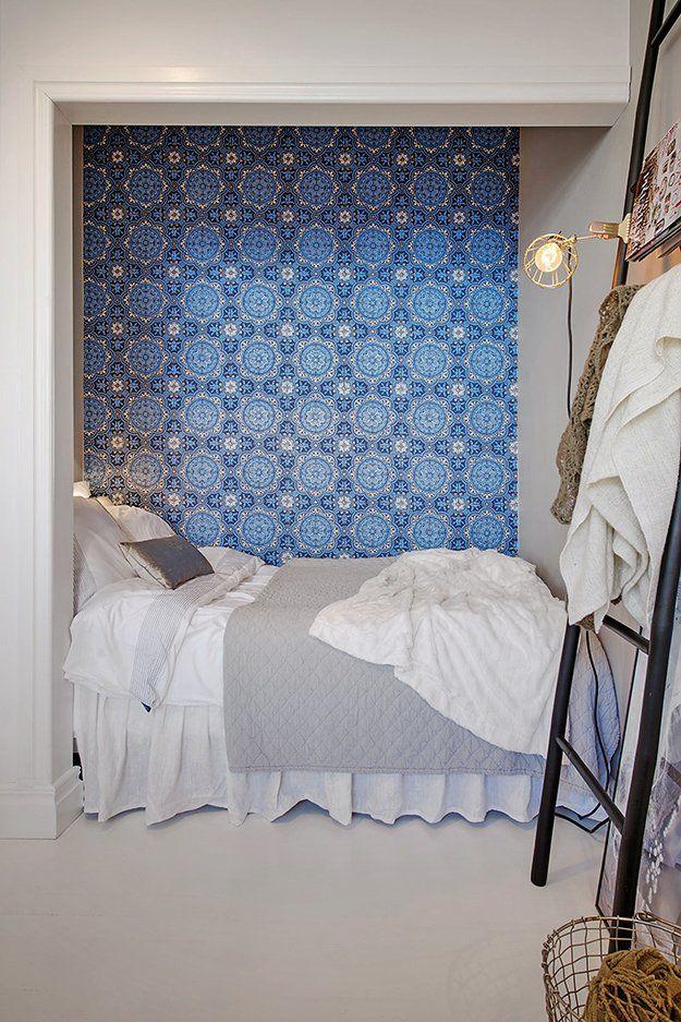 Как обустроить спальню в однокомнатной квартире: 6 любопытных идей