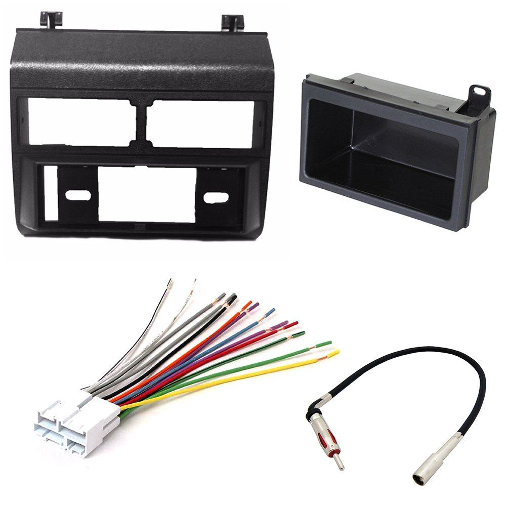 CAR STEREO RADIO DASH INSTALLATION MOUNTING KIT+ ADD ON STORAGE ...