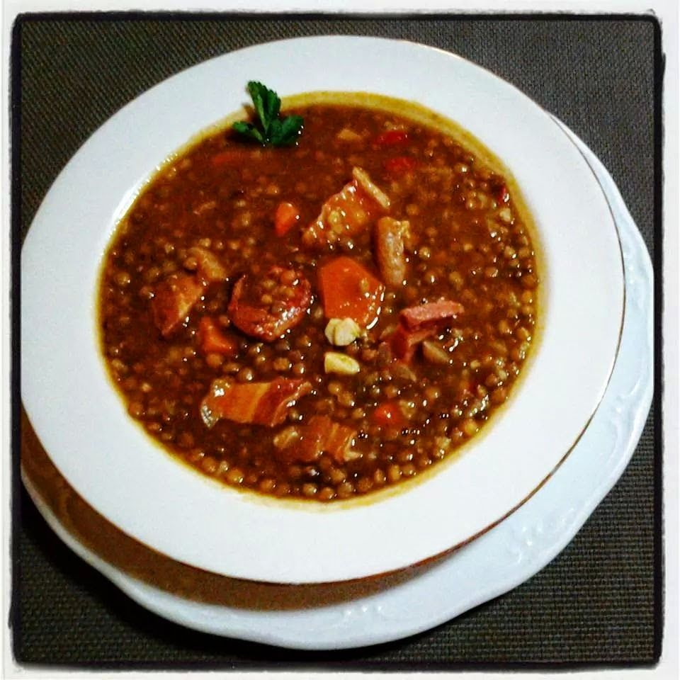 A treat for the senses: Lentil stew by Luisa Fernandez Rodriguez
