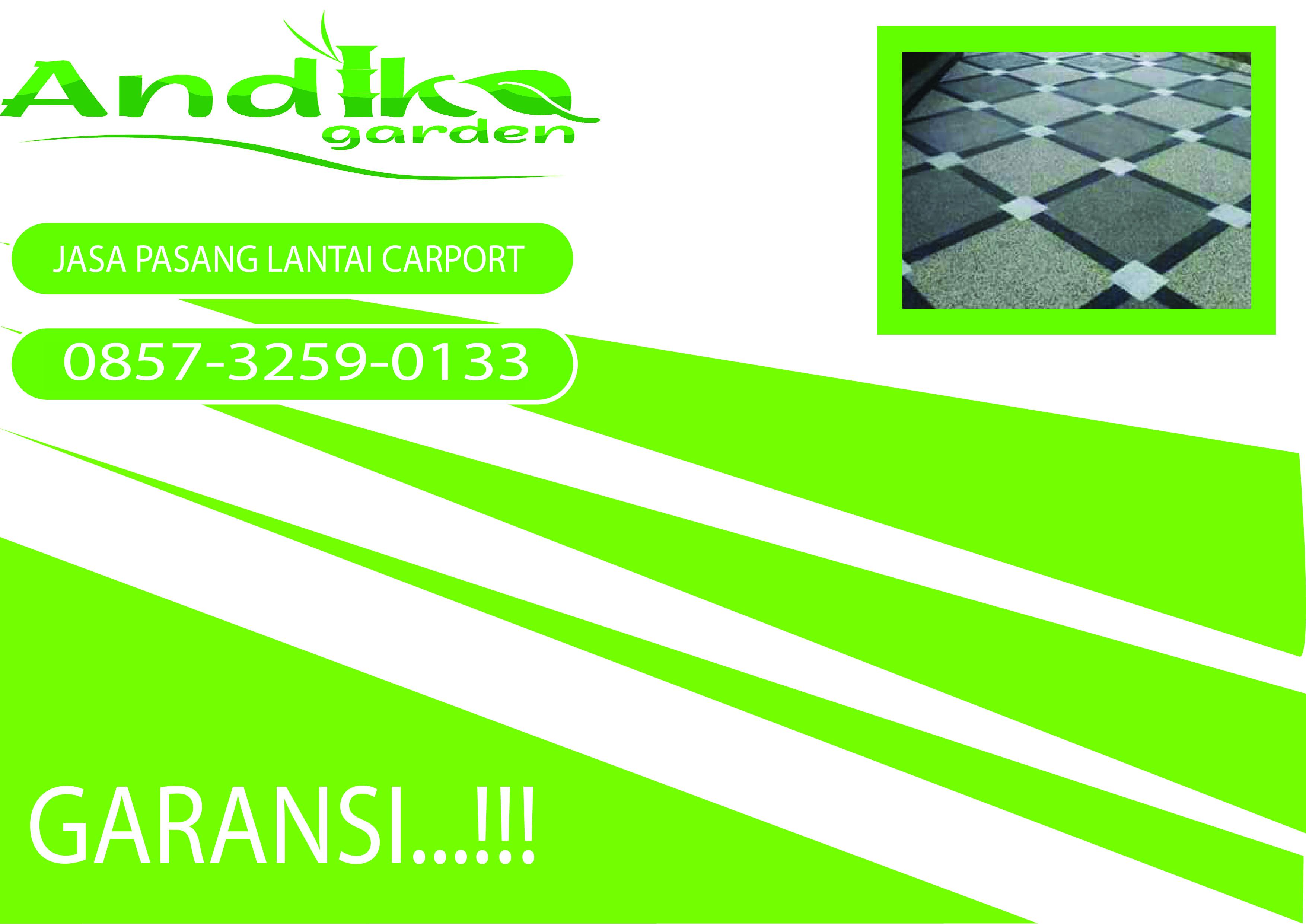 Harga Keramik Lantai Carport Tlp 62 857 3259 0133 Andika Garden In 2020 Whatsapp Message Carport Batu