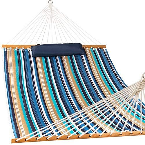 KingCamp Compact Camping Protable Hammock with Folding Wooden Spreader Bar Samll Package