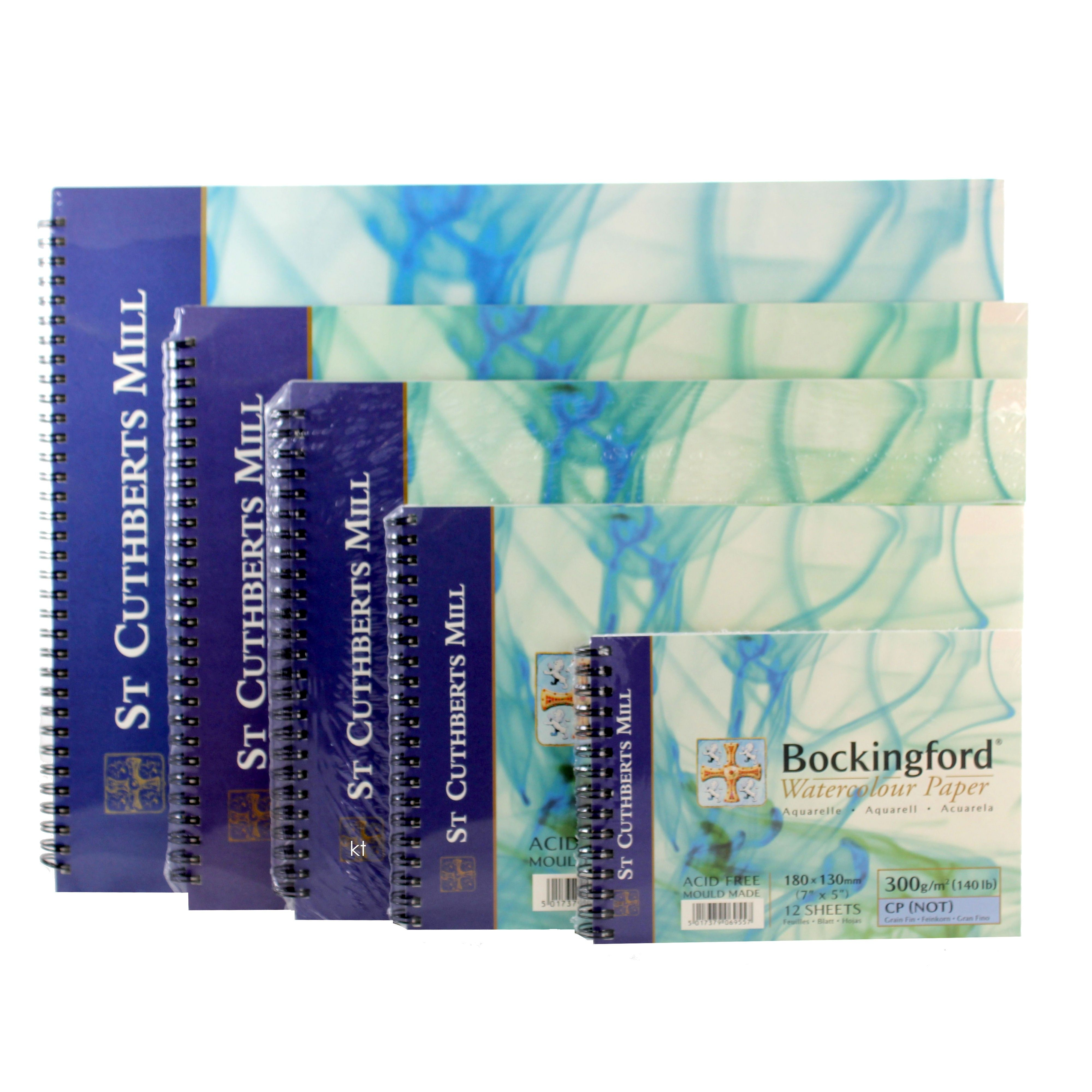 Watercolor Paper Pad 9x12 Inch Magicfly 3 Pack 140lb Watercolor