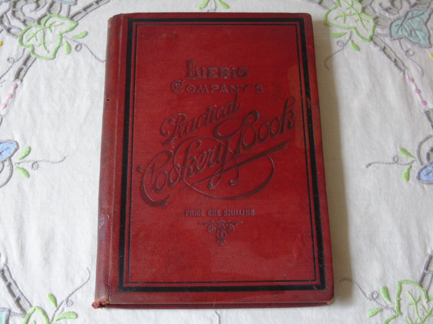 1893 Liebig Company's Practical Cookery Book Mrs H M Young - Antique Cookery…