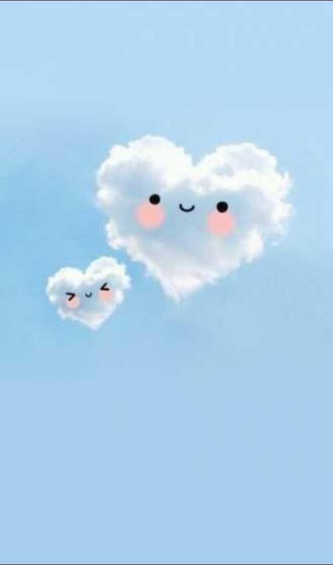 Hình nền cute đám mây
