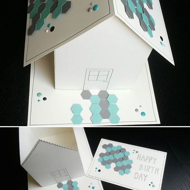 Haus mit Ikea - Gutschein für einen Kollegen #birthday #gutschein #ikea