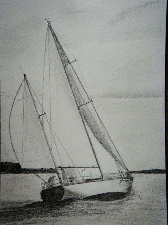 Segelschiff bleistiftzeichnung  Pin von Patrick Micalizzi auf Vela | Pinterest | Kunstunterricht ...