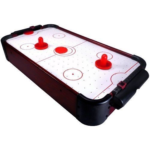 Mini Air Hockey Tabletop Game For Kids 20 Long By Sunline 49 95 With This Fast Paced Desktop Mini Air Hockey Table Air Hockey Tabletop Games Games For Kids