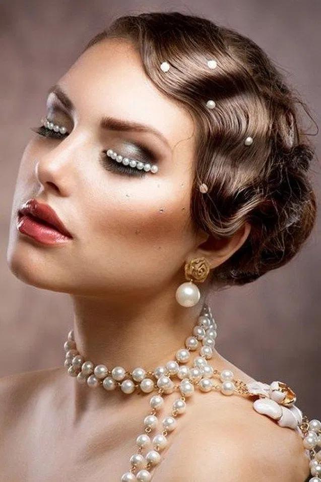 ❤hair short 1920s makeup 9+ ideas 1 #1920smakeup