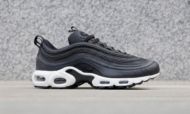 NIKE AIR MAX 97 PLUS BLACK, ANTHRACITE & WHITE LIMITED